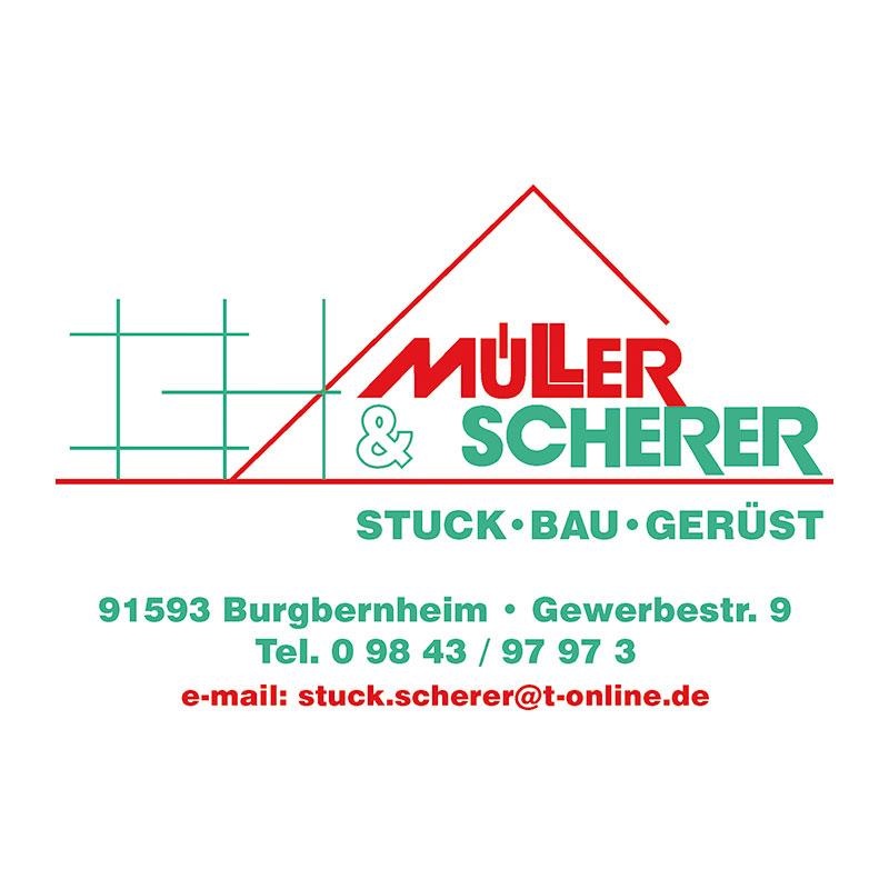 Müller & Scherer - Stuck, Bau, Gerüst