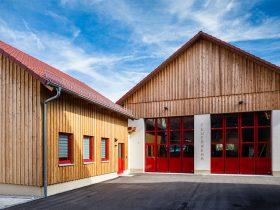 Feuerwehrhaus Elrichshausen – Ansicht 1