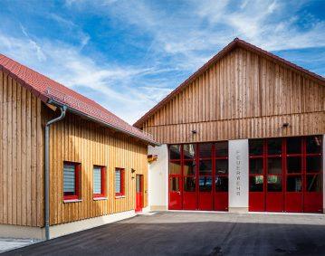Feuerwehrhaus Elrichshausen - Ansicht 1