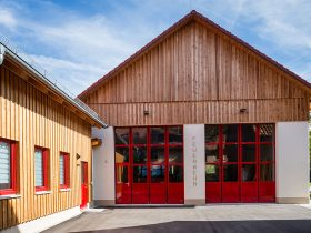Feuerwehrhaus Elrichshausen – Ansicht 3