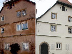 Klostergasse 13 – Sanierung Fassade