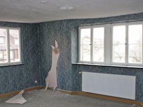 Wohnbereich vor der Sanierung