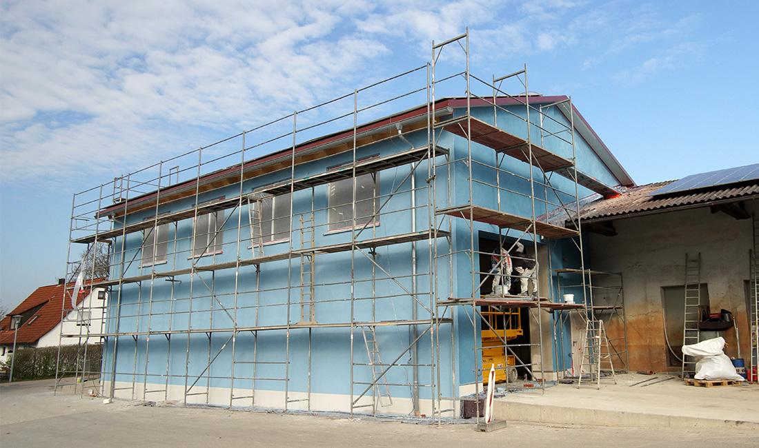 Erweiterung/Umbau der Schlosserei auf dem Betriebsgelände