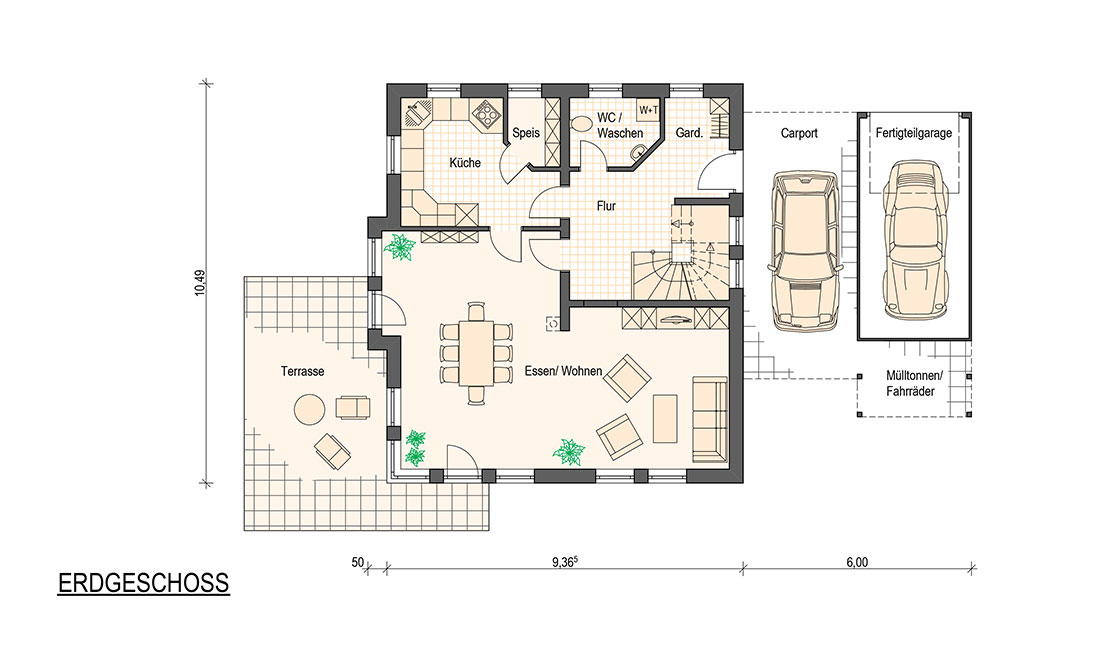 Family Allround – Grundriss Erdgeschoss
