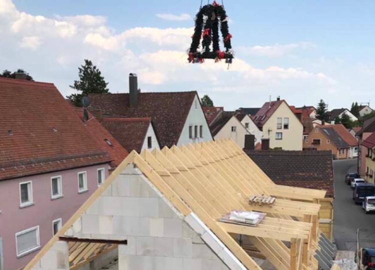 Richtfest Schillingsfürst